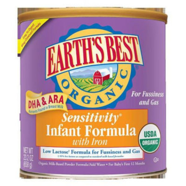 Sensitivity Infant Formula Powder with Iron Milk-Based Powder