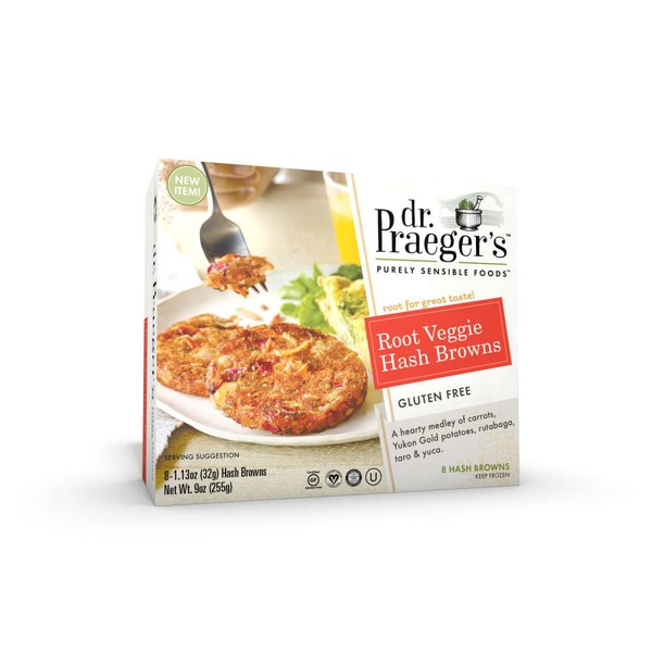 Dr. Praeger's Root Veggie Hash Browns - 8 CT