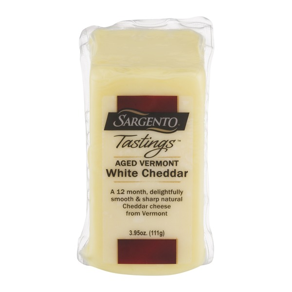 Sargento Tastings Aged Vermont White Cheddar