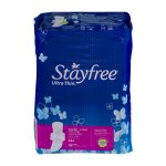 Stayfree Ultra Thin Super-Long Pads with Wings, 32 count