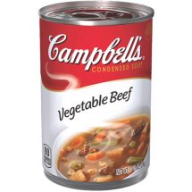 Campbell's Condensed Vegetable Beef Soup, 10.5 oz., 24 case
