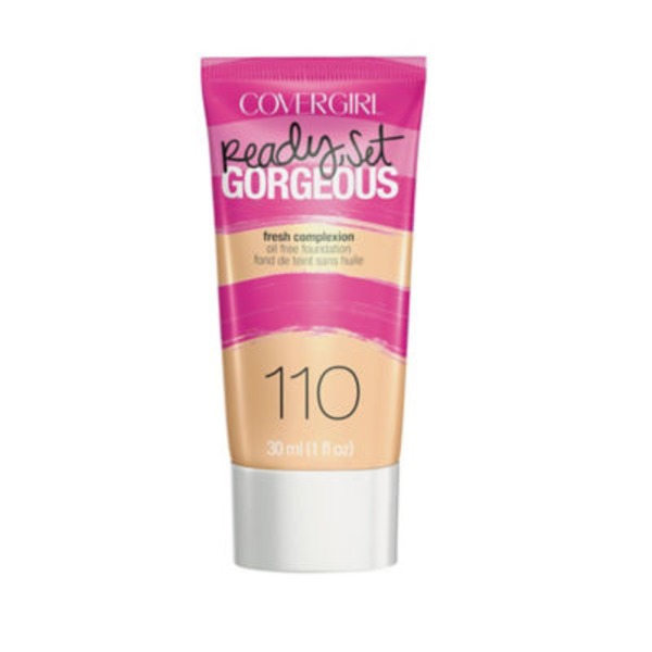 CoverGirl Ready Set Gorgeous COVERGIRL Ready, Set Gorgeous Foundation, Creamy Natural 1 fl oz (30 ml) Female Cosmetics