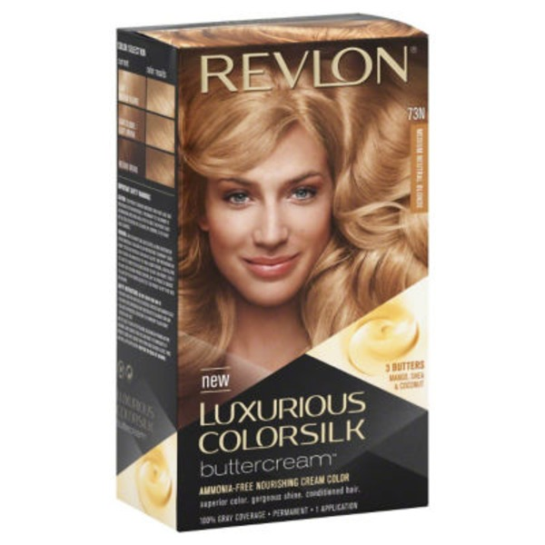 Luxurious Colorsilk Permanent Color, Medium Neutral Blonde 73N