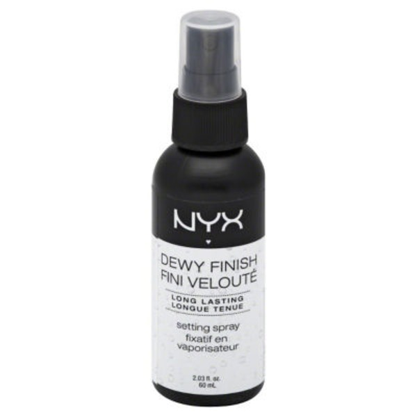 NYX Dewy Finish Make Up Setting Spray