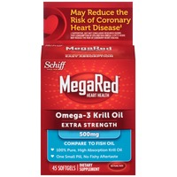 Megared Superior Omega-3 Krill Oil Extra Strength 500mg Softgels Dietary Supplement