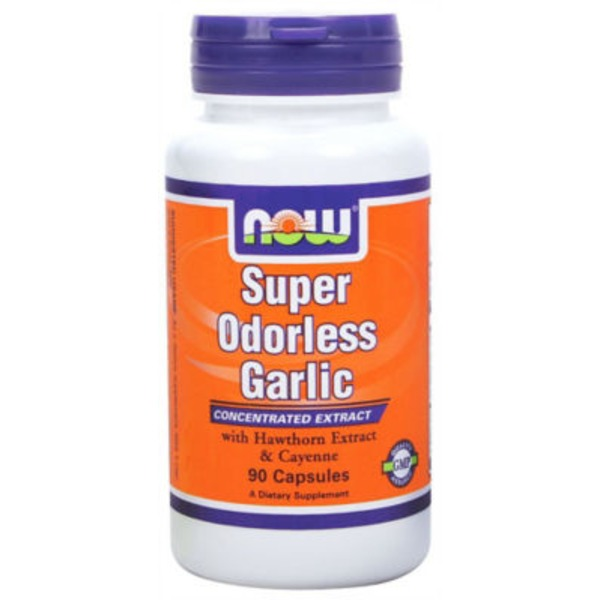 Now Odorless Garlic 5,000 mg Capsules