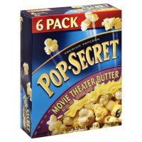 Pop Secret Movie Theather Butter Microwave Popcorn - 6