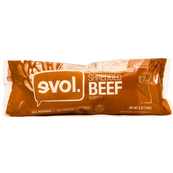 Evol Foods Shredded Beef Burrito