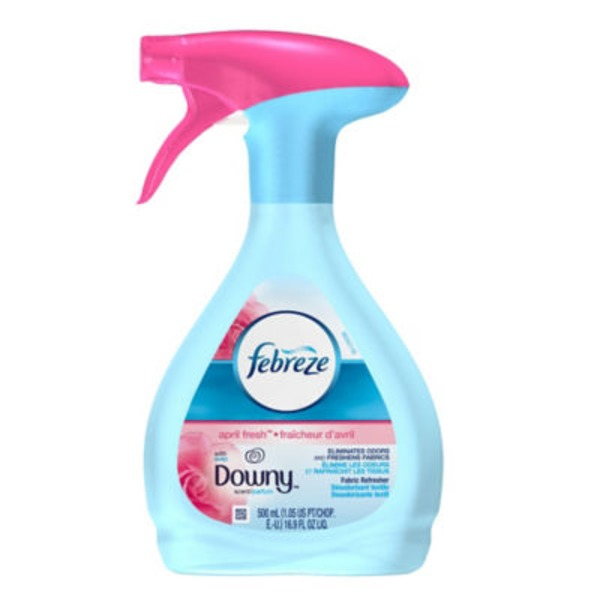 Febreze Fabric Refresher with Downy April Fresh Air Freshener (1 Count, 16.9 fl oz) Air Care