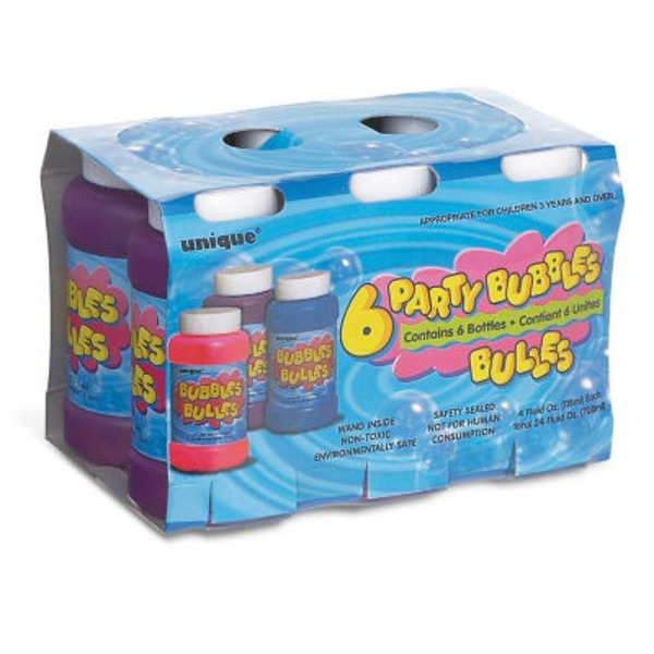Unique Party Supplies Bubbles