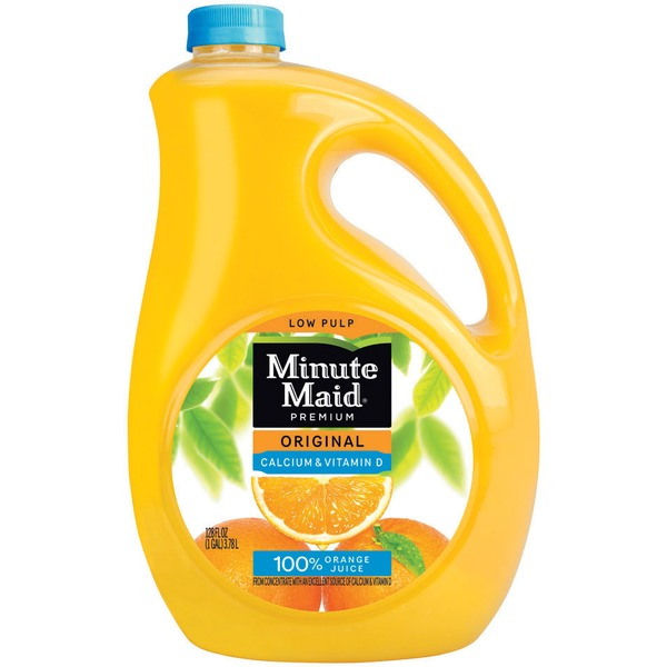 Minute Maid Original Calcium + Vitamin D Low Pulp Orange Juice