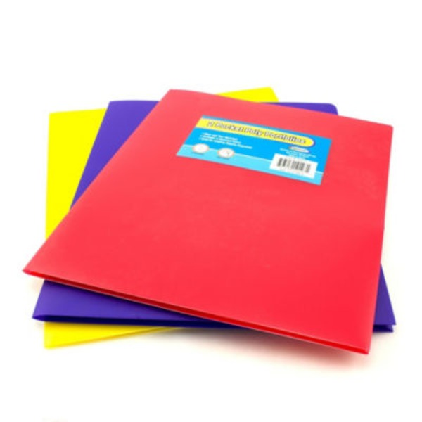 Unison Two Pocket Poly Portfolio