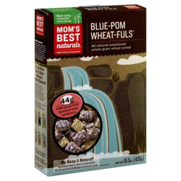 Mom's Best Cereals Blueberry Wheatfuls Cereal