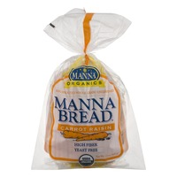 Manna Organics Manna Bread Carrot Raisin