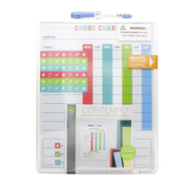 U Brands Magnetic Dry Erase Chore Chart 11