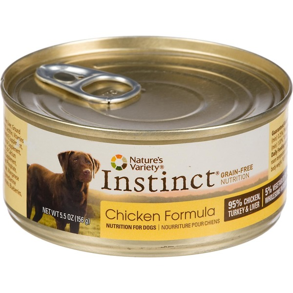 Nature's Variety Nutrition for Dogs, Chicken Formula