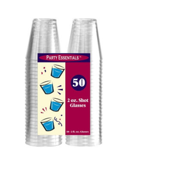 Party Essentials 2 oz Shot Glasses