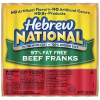 Hebrew National Beef 97% Fat Free Franks