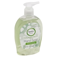 Signature Care Liquid Hand Soap Cucumber
