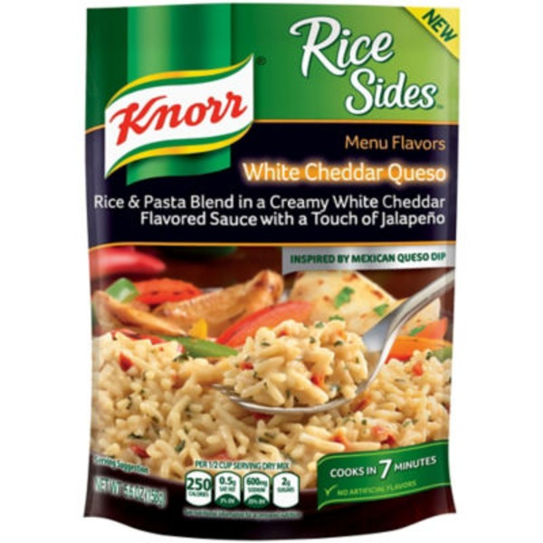 Knorr Sides White Ched Queso Rice Side Meal