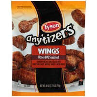 Any'tizers Honey BBQ Seasoned Chicken Wings