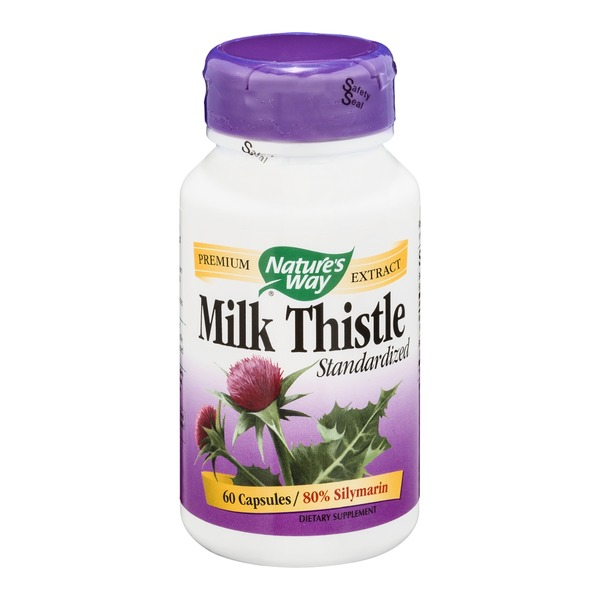 Nature's Way Standardized Milk Thistle - 60 CT