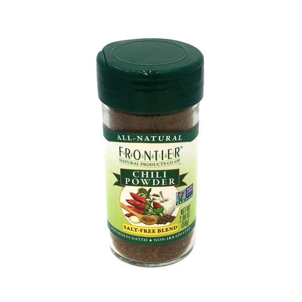 Frontier Salt-Free Blend Chili Powder
