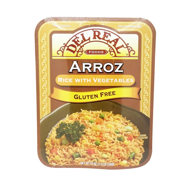 Del Real Arroz Rice with Vegetables