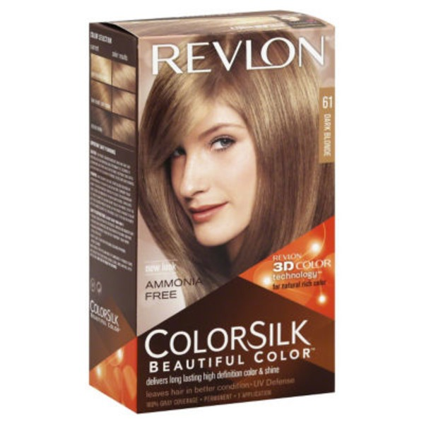 Revlon Colorsilk Hair Color - Dark Blonde