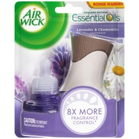 Air Wick Lavender & Chamomile with Bonus Warmer Scented Oil