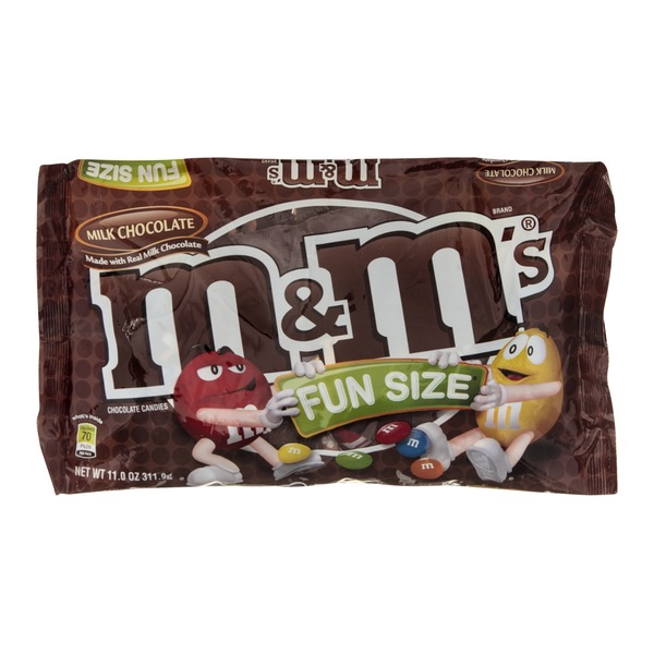 M&M's M&M Milk Chocolate Candies Fun Size