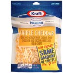 Kraft Triple Cheddar Cheese Blend Shredded Cheese, 8 oz