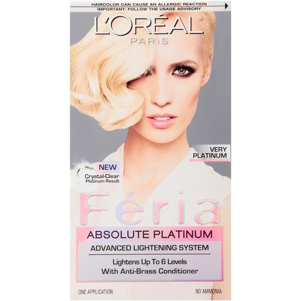 Feria Absolute Platinum Very Platinum Hair Color