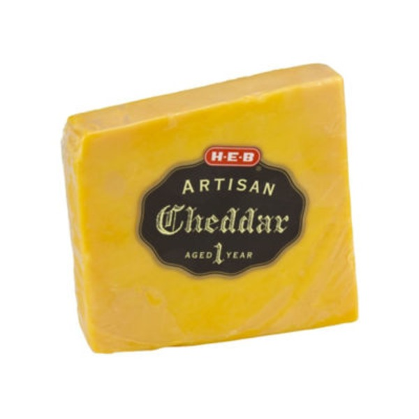 H-E-B Artisan Yellow Cheddar Cheese