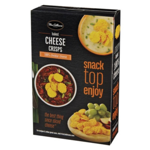 Mrs. Cubbison's Cheddar Baked Cheese Crisps