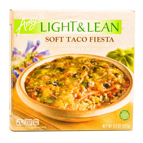 Amy's Light & Lean Soft Taco Fiesta