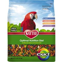 Kaytee Large Parrot Optiimal Nutrition Diet Exact Rainbow