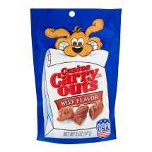 Canine Carry Outs Dog Snacks Beef Flavor, 5.0 OZ