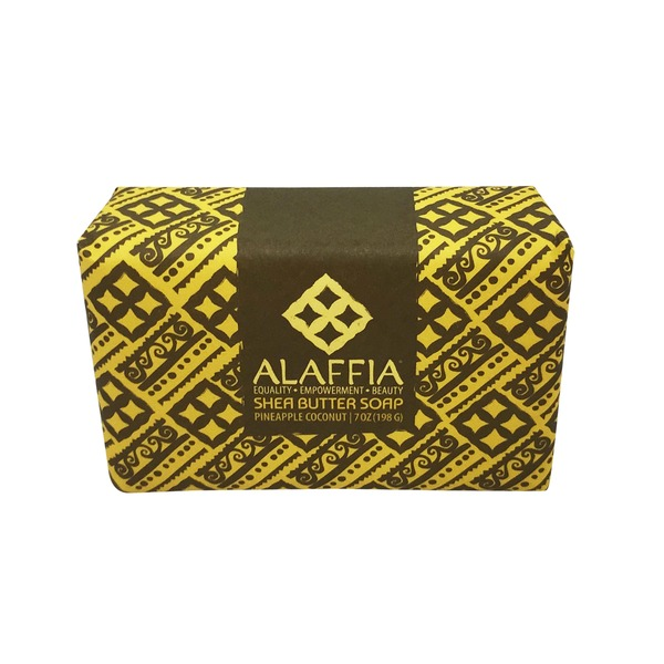 Alaffia Pineapple Coconut Shea Butter  Soap