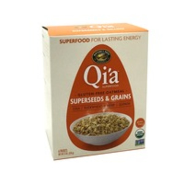 Nature's Path organic Qi'a Gluten Free Oatmeal Superseeds and Grains packets