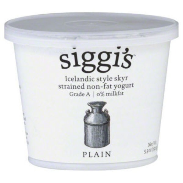 Siggi's Icelandic Style Fat Free Plain Yogurt