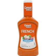 Great Value Creamy French Dressing, 16 fl oz
