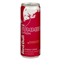 Red Bull The Summer Edition Energy Drink Grapefruit Twist