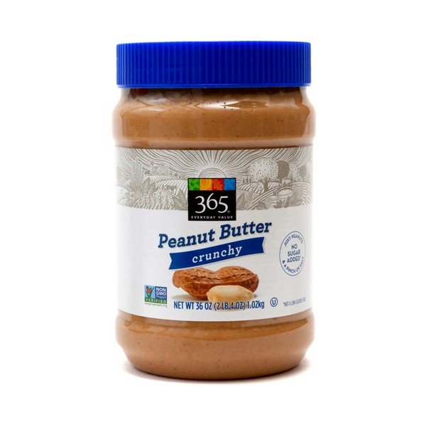 365 Crunchy Peanut Butter With Salt