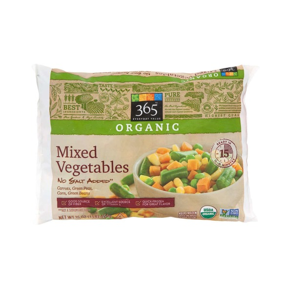 365 Organic Mixed Vegetables