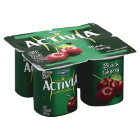 Dannon Activia Yogurt Black Cherry - 4