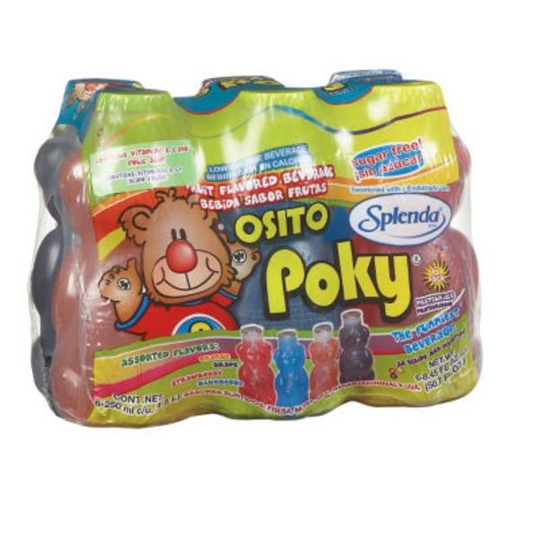 Poky Assorted Flavor Fruit Drinks With Splenda