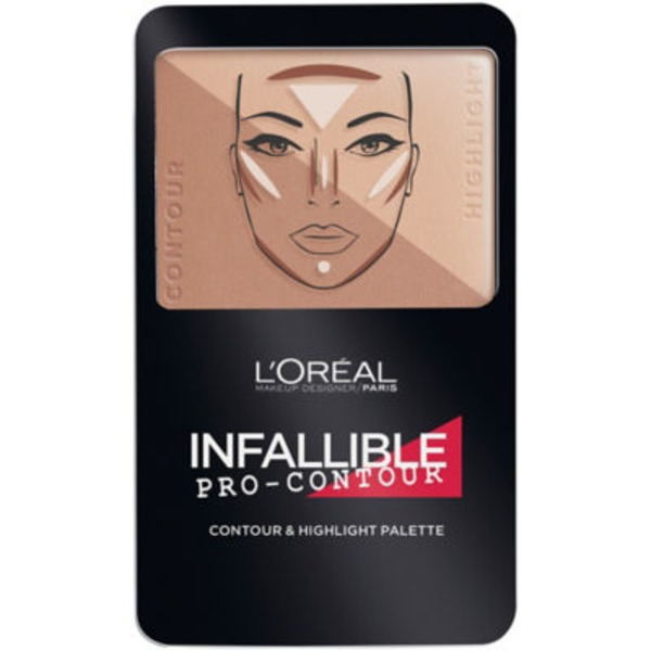 Infallible 814 Medium/Moyen Pro Contour Palette