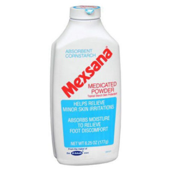 Mexsana Absorbent Cornstarch Medicated Powder