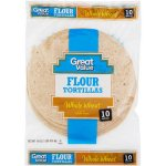 Great Value Whole Wheat 8' Flour Tortillas, 10 ct